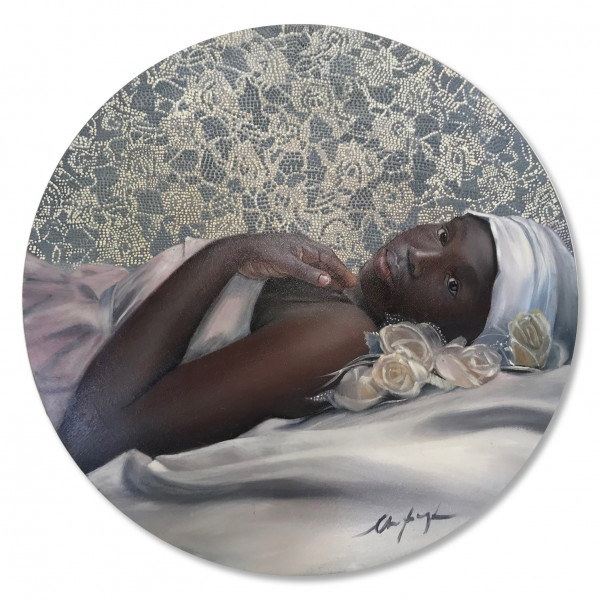 Artikelbild 1 des Artikels GIRL WITH WHITE ROSES | CHRISTA MYBURGH